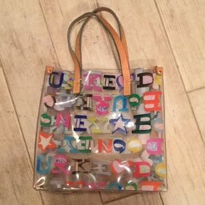 Donney & Bourke Clear Small Tote